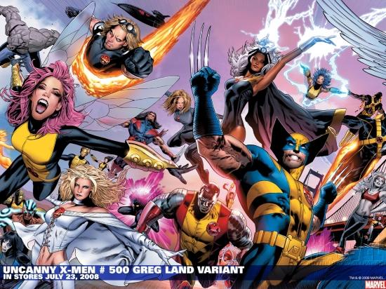 Uncanny X-Men (1963) #500 (DODSON VARIANT) Wallpaper