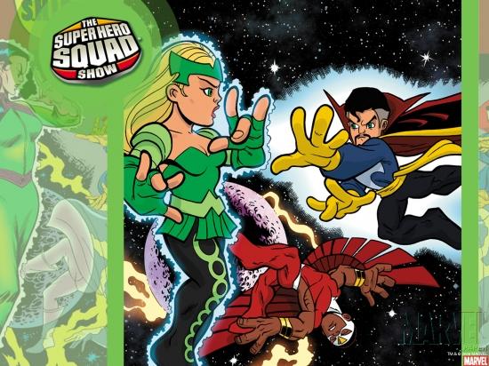 Super Hero Squad (2010) #9 Wallpaper