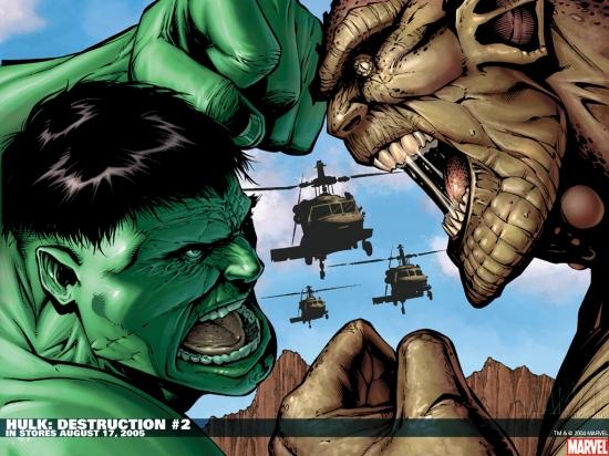 Hulk: Destruction (2005) #2 Wallpaper
