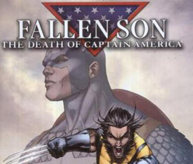 CIVIL WAR: FALLEN SON - THE DEATH OF CAPTAIN AMERICA #1 (VARIANT COVER) COVER
