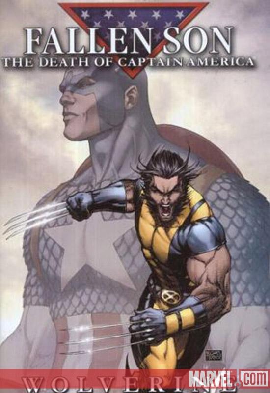 Fallen Son: The Death of Captain America (2007) #1 (Wolverine B)