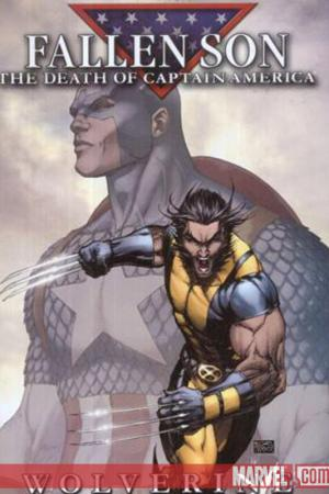 Fallen Son: The Death of Captain America #1  (Wolverine B)