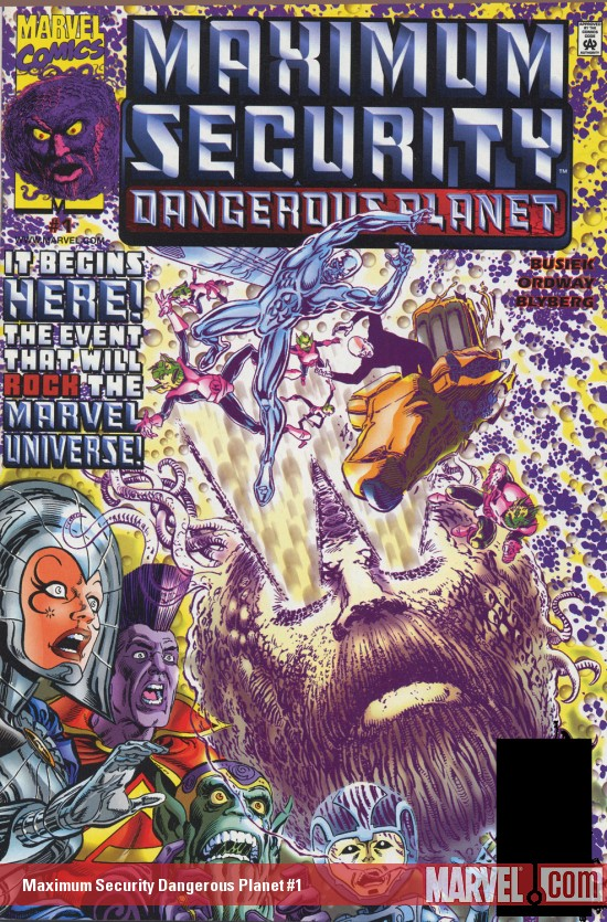 Maximum Security: Dangerous Planet (2000) #1