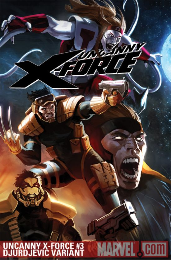 Uncanny X-Force (2010) #3 (DJURDJEVIC VARIANT)