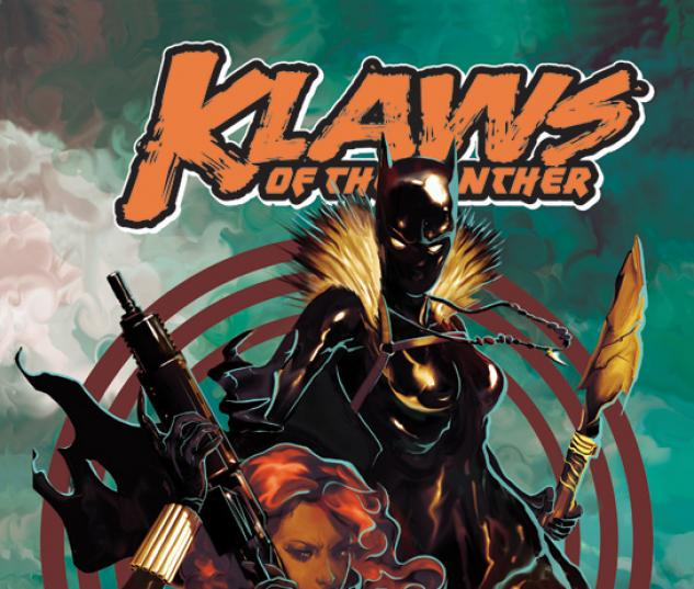 Cover From Klaws of the Panther (2010) #4
