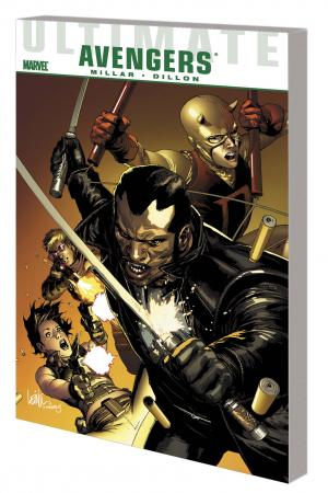 ULTIMATE COMICS AVENGERS: BLADE VS. THE AVENGERS TPB (Trade Paperback)