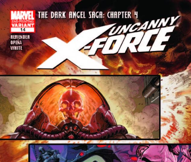UNCANNY X-FORCE 14 2ND PRINTING VARIANT