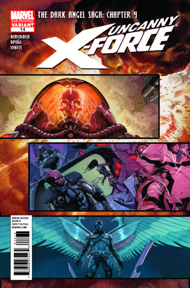 Uncanny X-Force (2010) #14 (2nd Printing Variant)