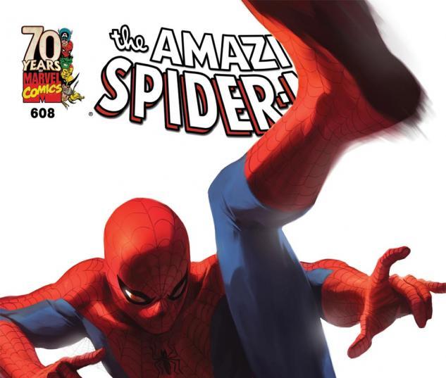 Amazing Spider-Man (1999) #608, Djurdjevic 70th Anniversary Variant