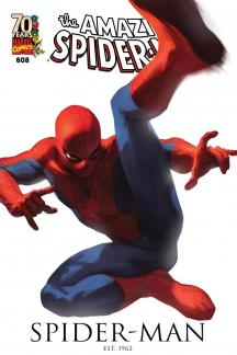 Amazing Spider-Man (1999) #608 (DJURDJEVIC 70TH ANNIVERSARY VARIANT)