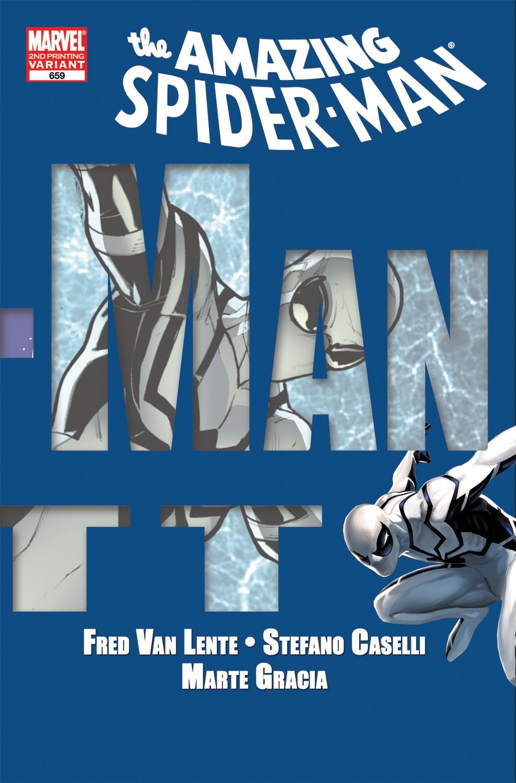 Amazing Spider-Man (1999) #659 (2nd Printing Variant)