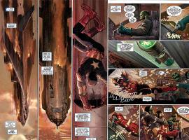 Captain America (2012) #1 preview art by John Romita Jr.