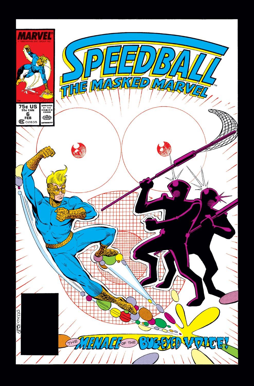 Speedball (1988) #6