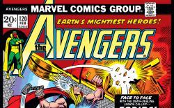 Avengers (1963) #120 Cover