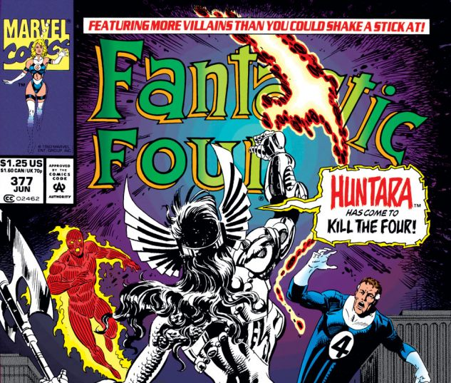 Fantastic Four (1961) #377 Cover