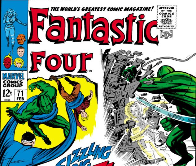 Fantastic Four (1961) #71 Cover