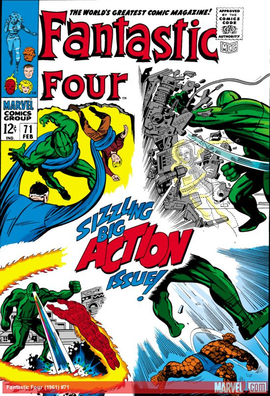 Fantastic Four (1961) #71