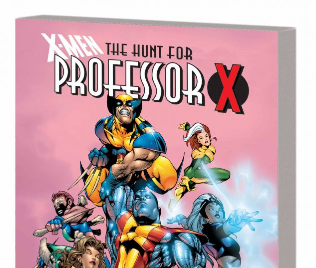 X-MEN: THE HUNT FOR PROFESSOR X TPB
