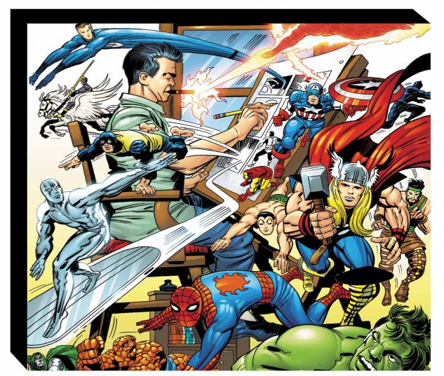 THE MARVEL LEGACY OF JACK KIRBY HC