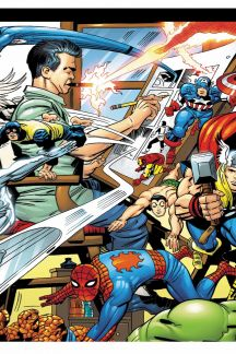 The Marvel Legacy of Jack Kirby (Hardcover)