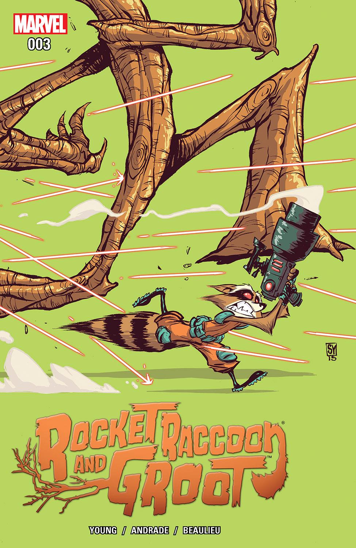 Rocket Raccoon & Groot (2016) #3