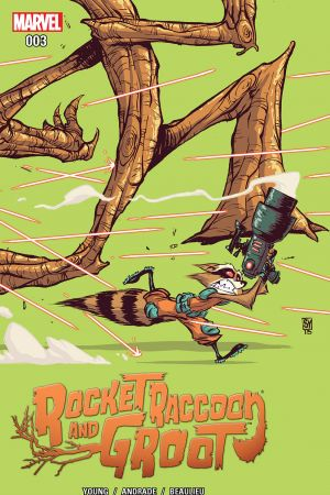 Rocket Raccoon & Groot #3