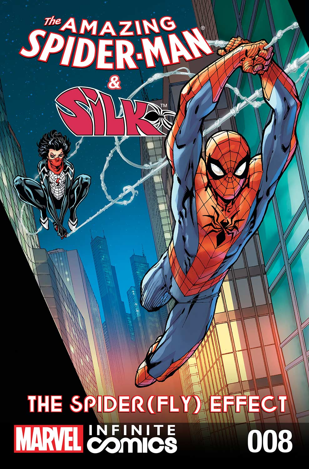 Amazing Spider-Man & Silk: The Spider(fly) Effect Infinite Comic (2016) #8