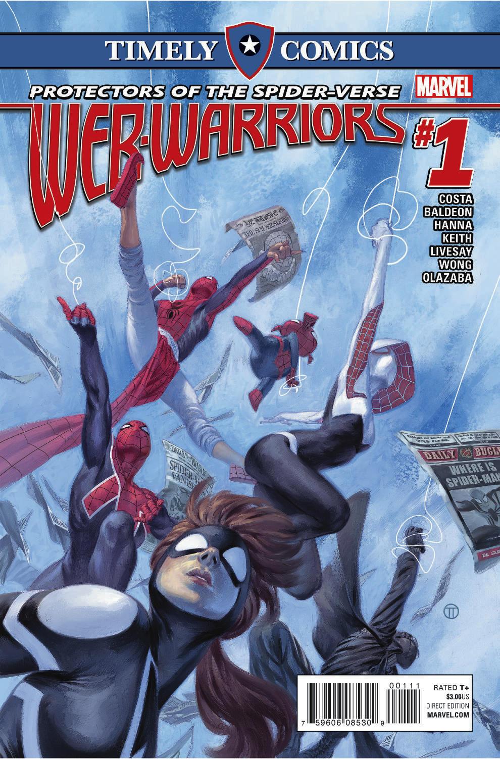 Timely Comics: Web Warriors (2016) #1