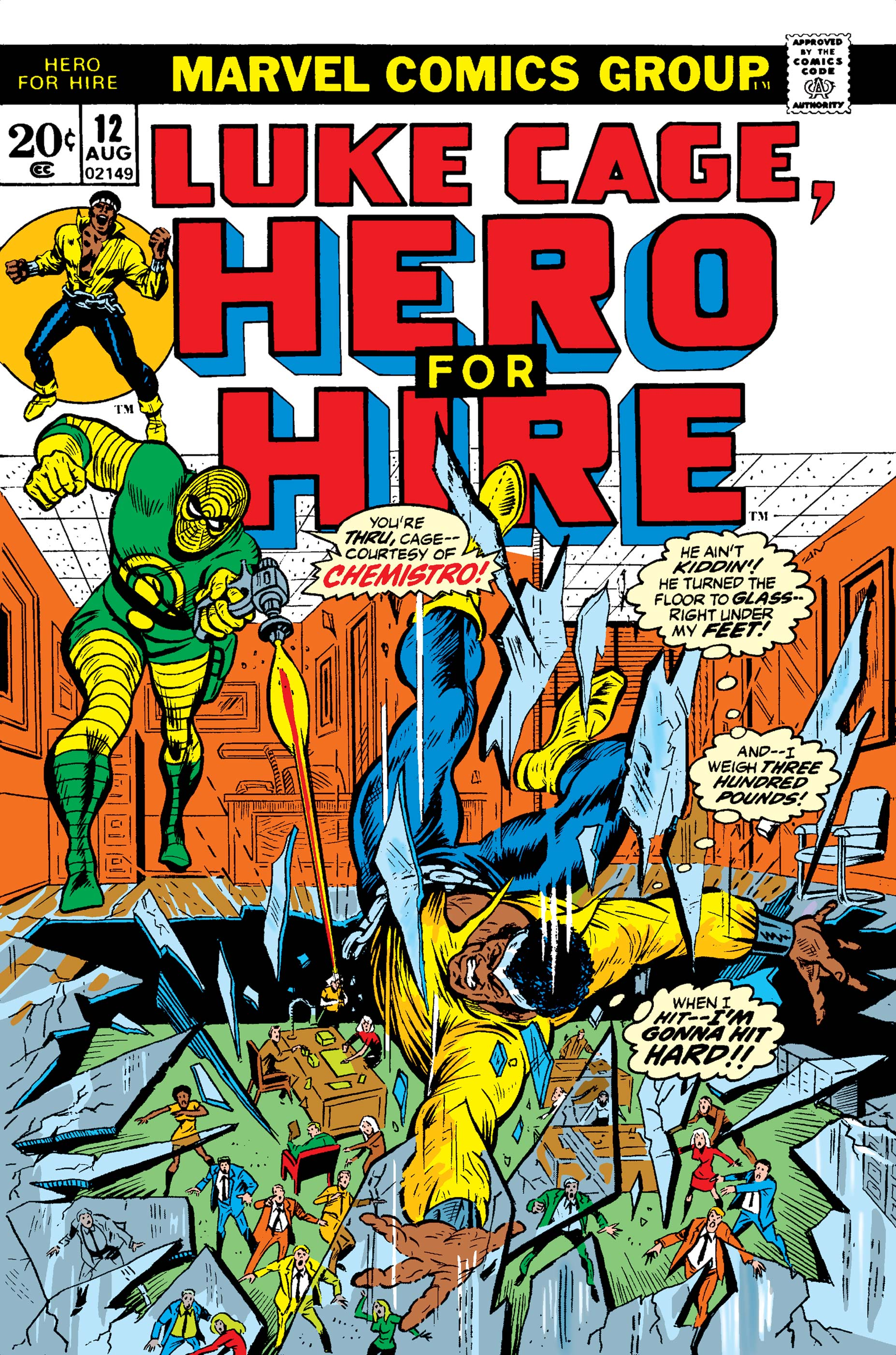 Luke Cage, Hero for Hire (1972) #12