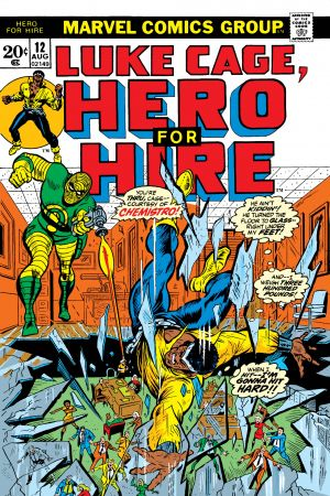 Luke Cage, Hero for Hire #12