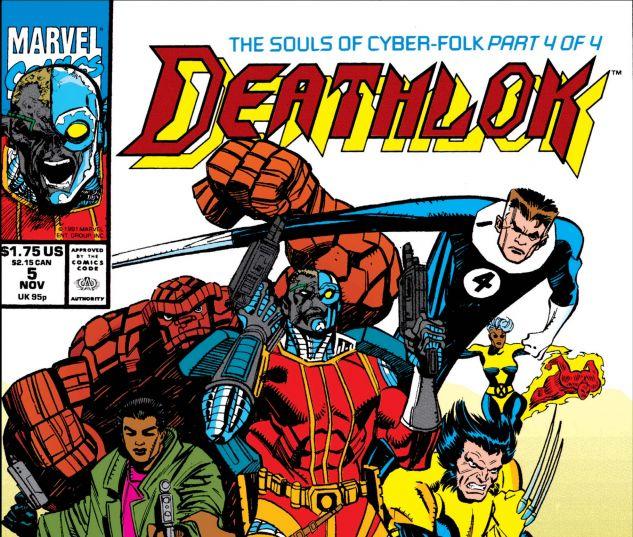 Deathlok (1991) #5