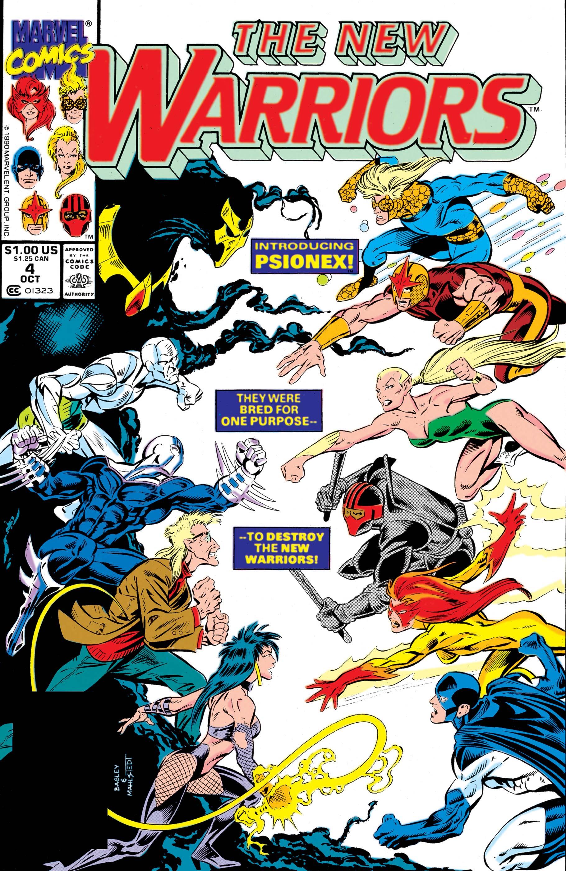 New Warriors (1990) #4