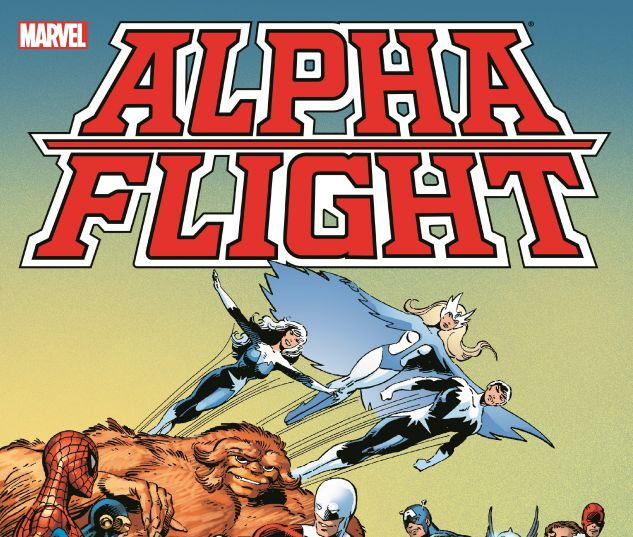 cover from Alpha Flight by John Byrne Omnibus (2017)