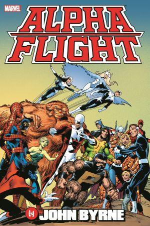 Alpha Flight by John Byrne Omnibus (Hardcover)
