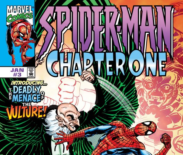 Cover to Spider-Man: Chapter One (1998) #3