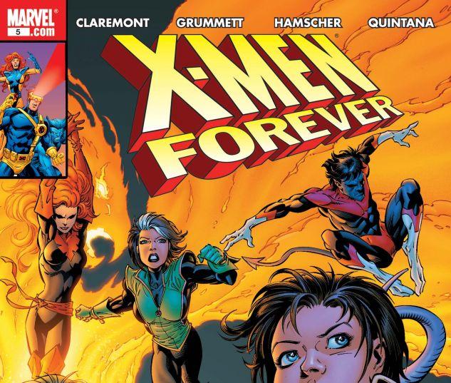 X-MEN FOREVER (2009) #5