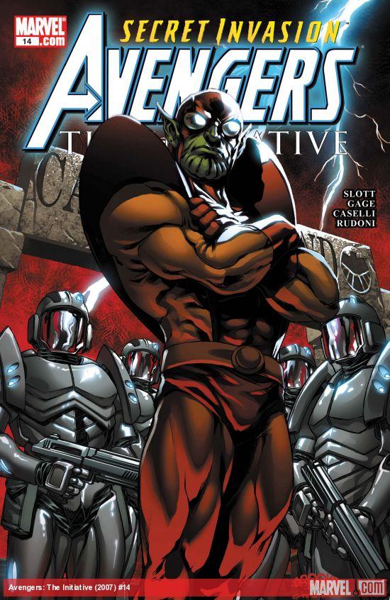 Avengers: The Initiative (2007) #14