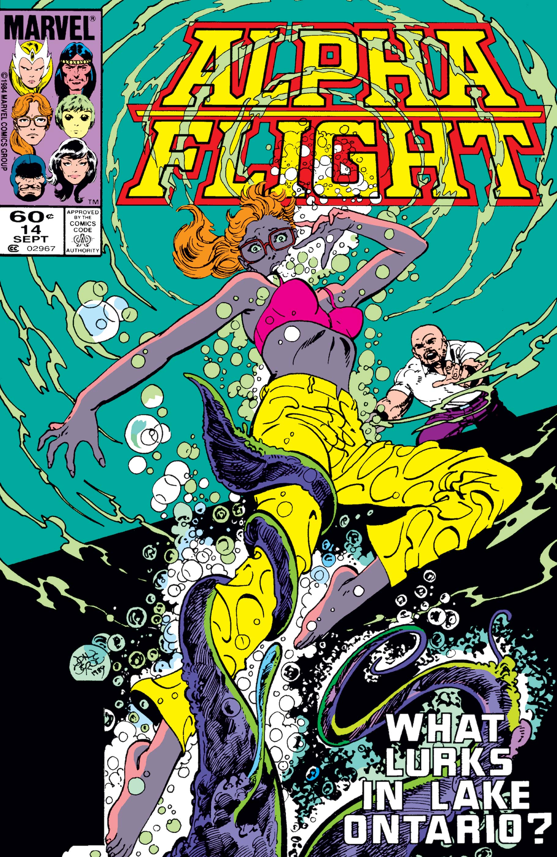 Alpha Flight (1983) #14