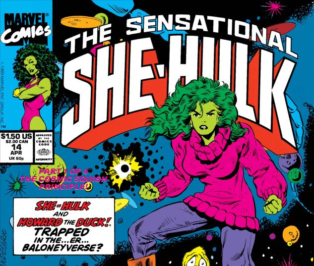 Sensational She-Hulk (1989)