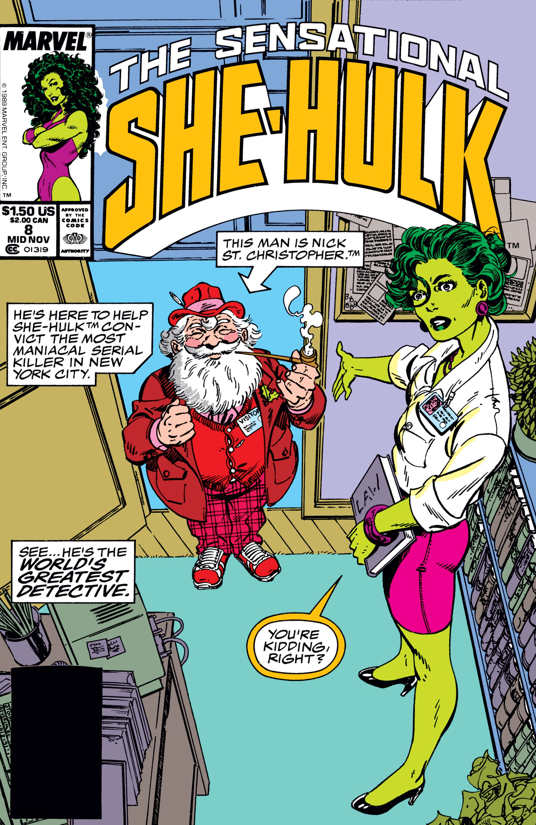 Sensational She-Hulk (1989) #8