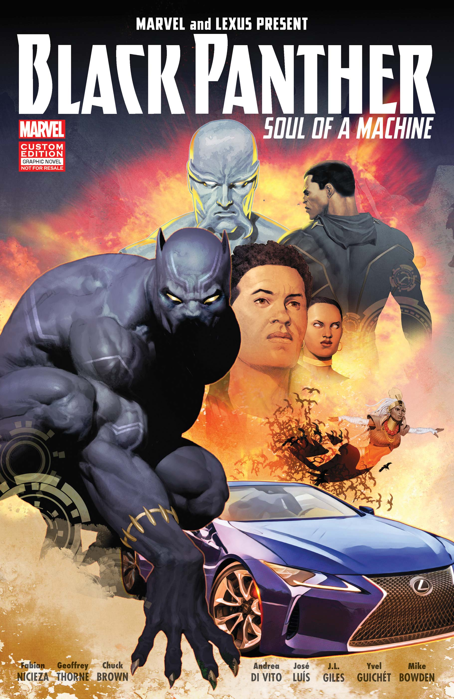 Black Panther: Soul of a Machine (Graphic Novel)