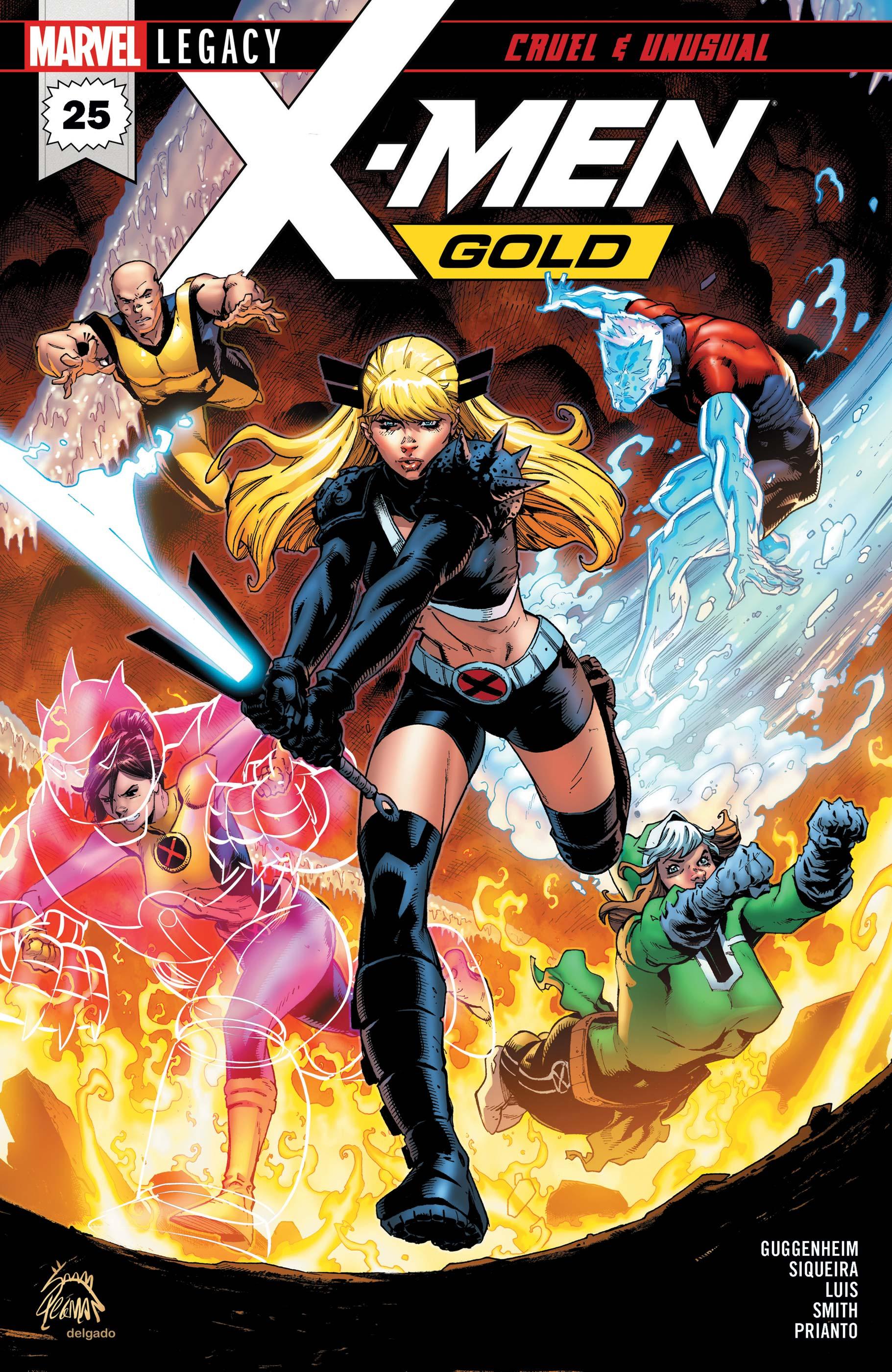 X-Men: Gold (2017) #25