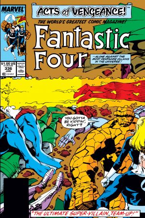 Fantastic Four (1961) #336