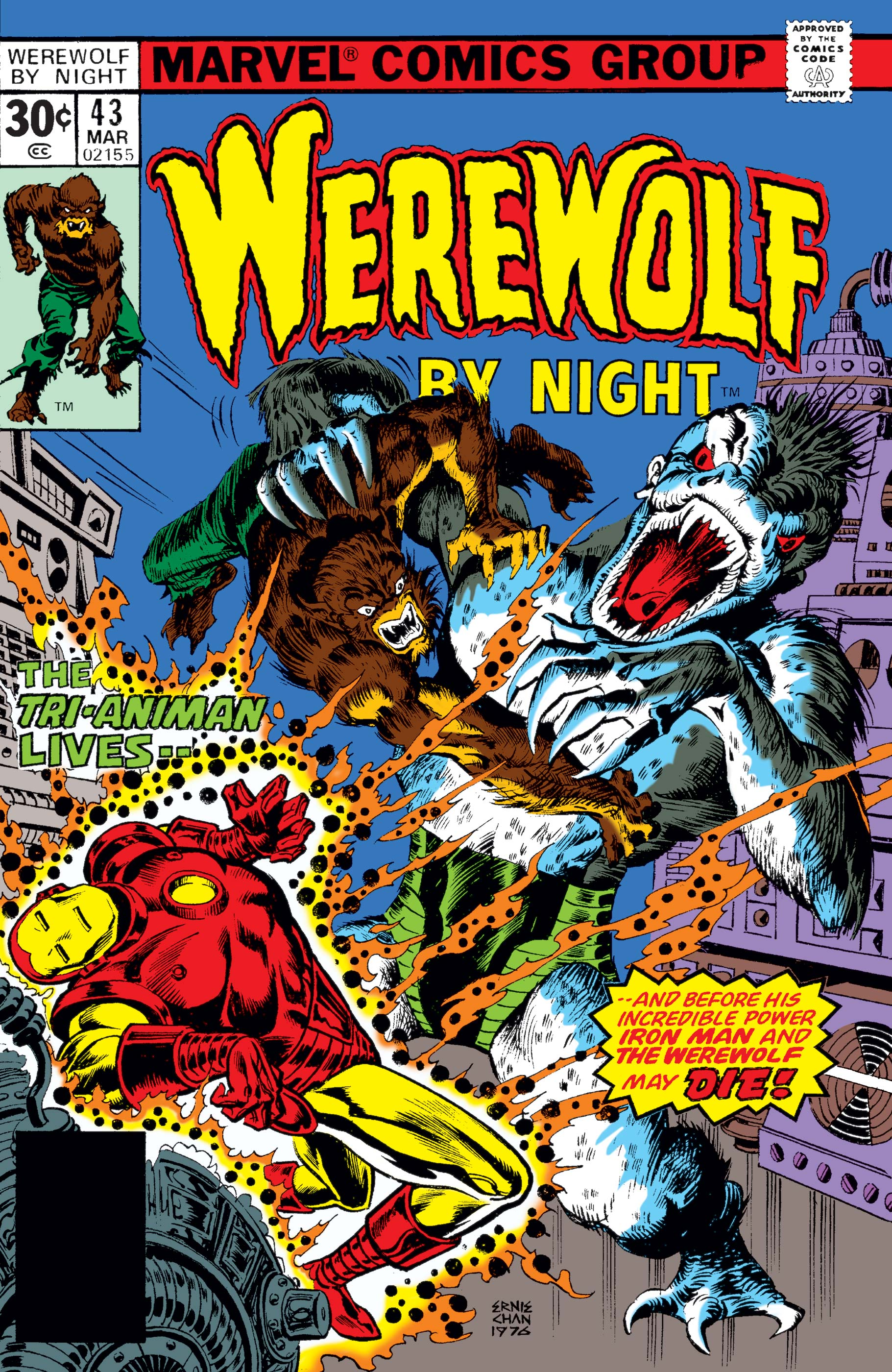 Werewolf By Night (1972) #43