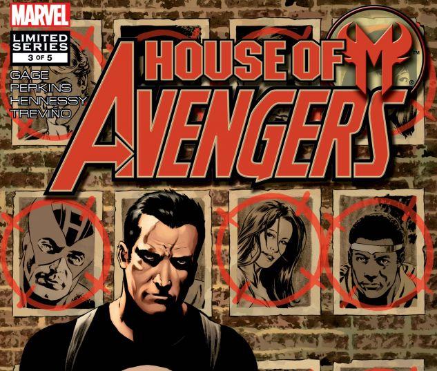 HOUSE OF M: AVENGERS (2007) #3