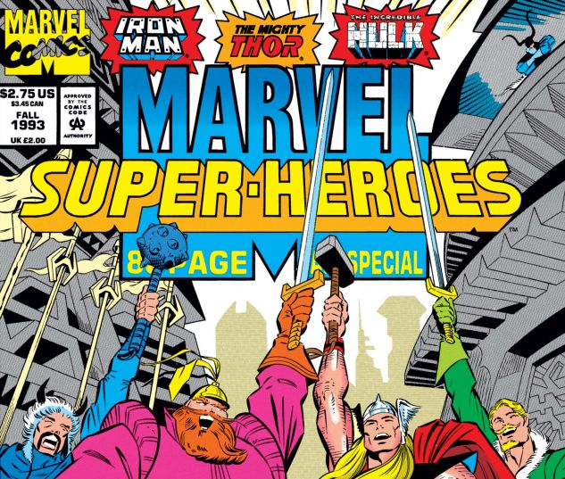 cover from Marvel Super-Heroes (1992) #15