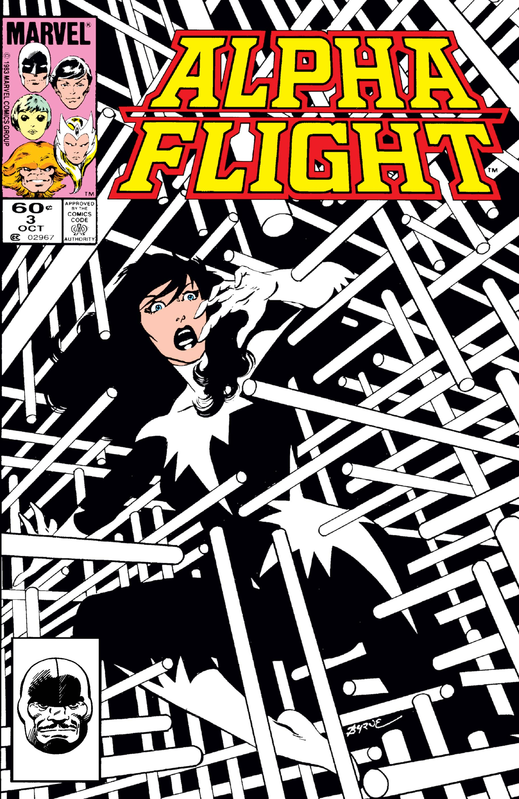 Alpha Flight (1983) #3