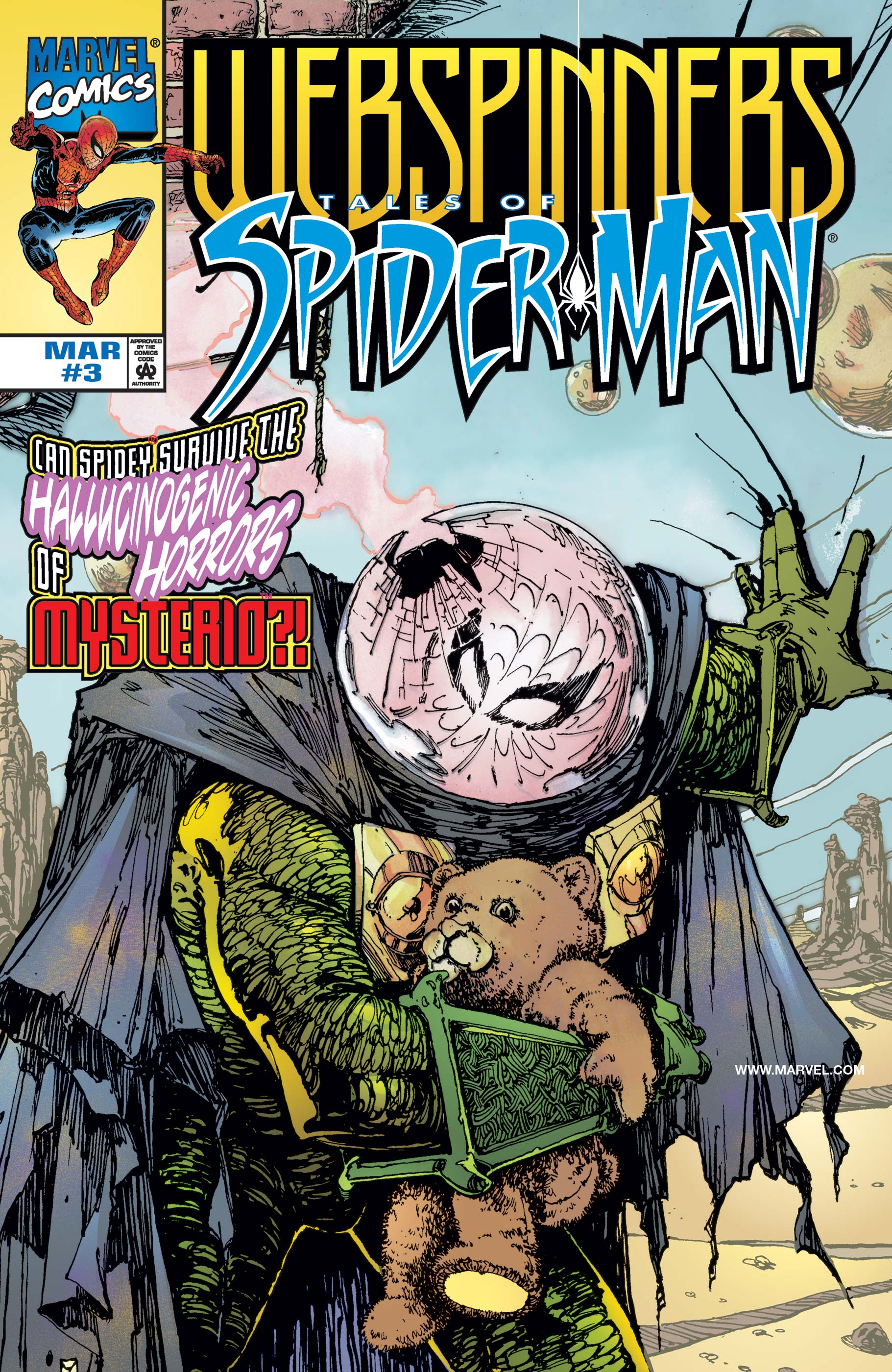 Webspinners: Tales of Spider-Man (1999) #3