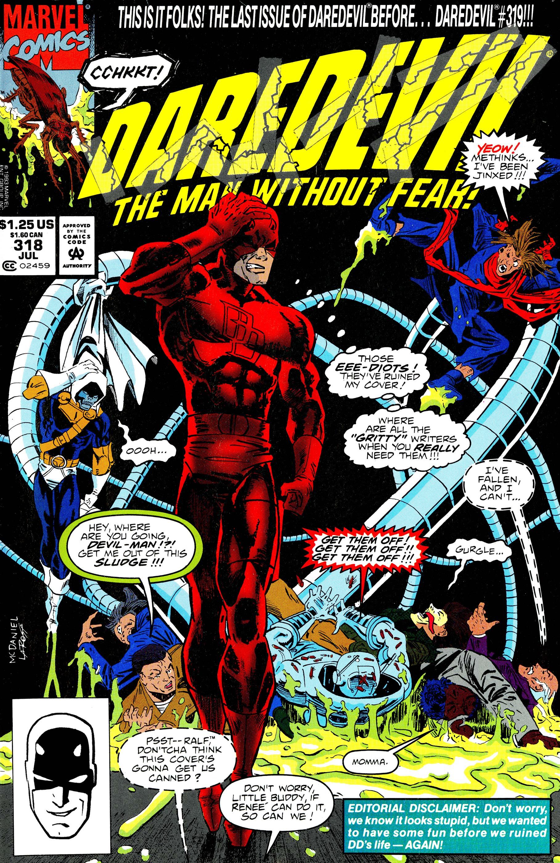 Daredevil (1964) #318