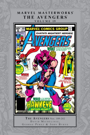 Marvel Masterworks: The Avengers Vol. 19 (Hardcover)